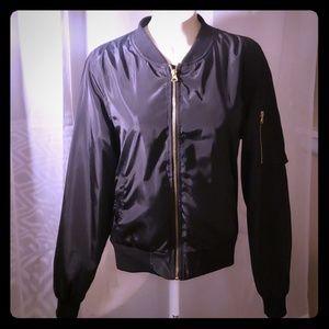 Forever 21 | Black Bomber Jacket